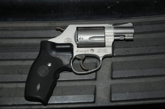 A photo of the gun used in the fatal shooting of 17-year-old Wren High School student Brandon Tyson is included in the case file about his death.