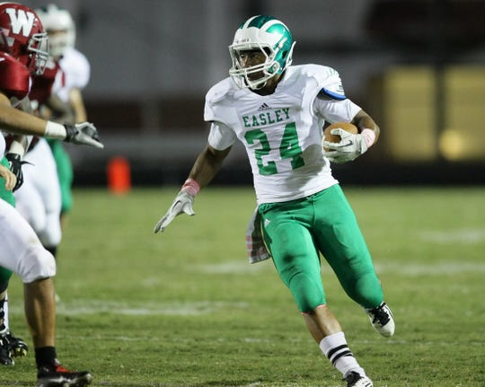C.J. Fuller starred at Easley High before playing at Clemson University. Fuller, 22, died in October 2018 of a blood clot connected to a knee injury from which he was rehabbing after surgery.