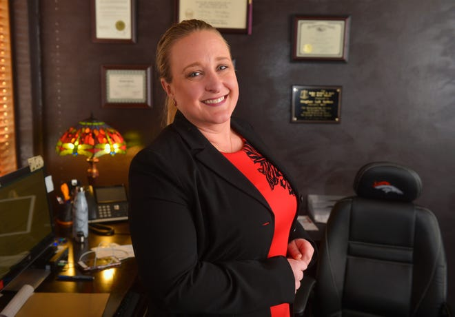 Meghan Sutton is a Great Falls attorney who has been recognized for her pro bono work in family law.