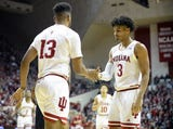 The Hoosiers and Razorbacks faced each other in November, a 1-point Arkansas win.