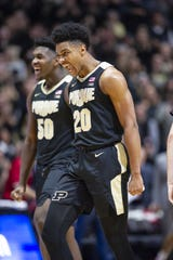 Purdue sophomore Nojel Eastern has been consistent all season-long for the Boilermakers.
