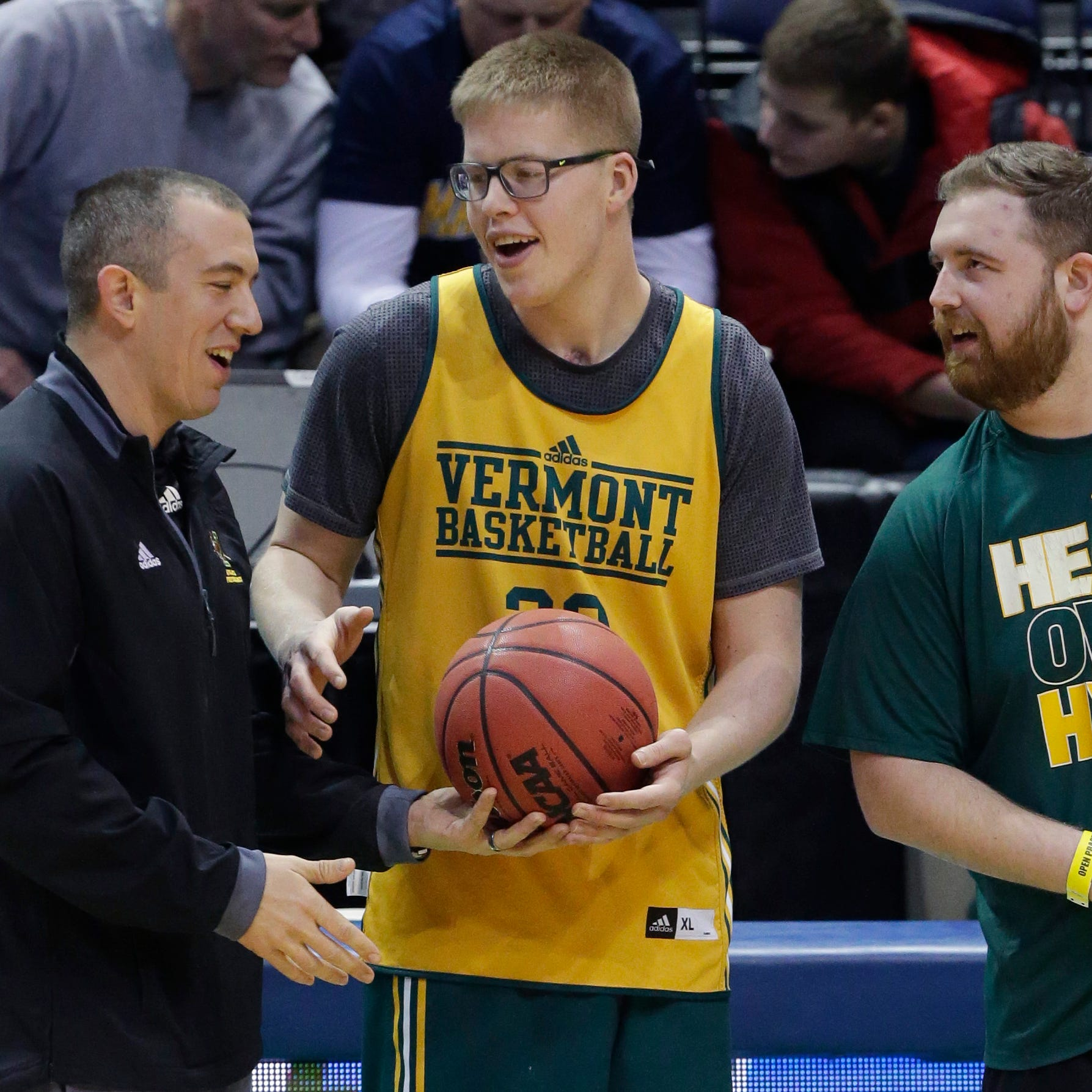Doyel: Whether he ever plays again, Vermont's Josh Speidel is a basketball story