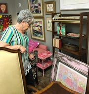 Peggy Runnels of Madison shops at Palladian Consign and Design.