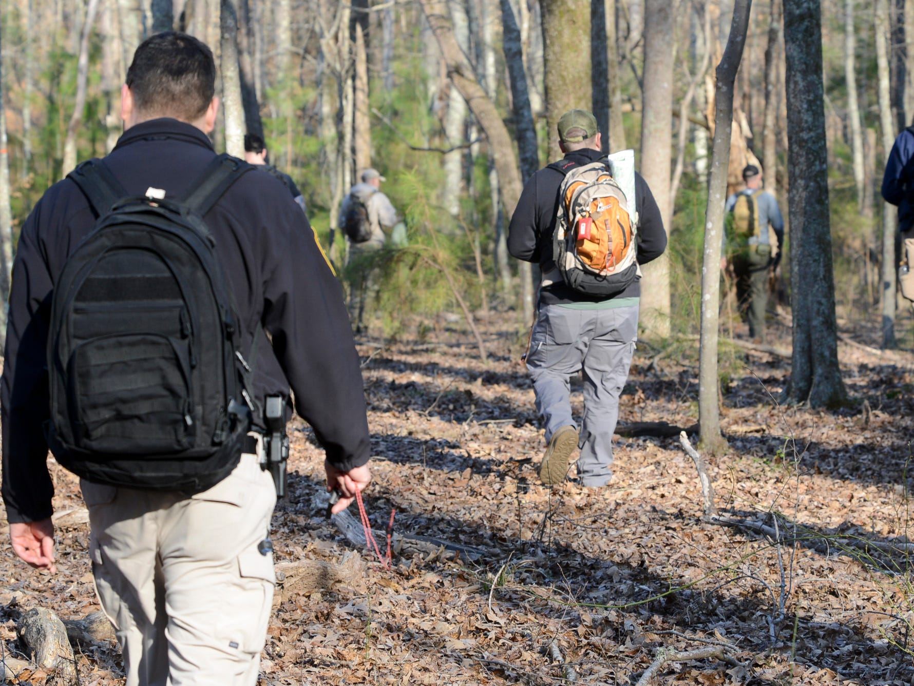 The Tennessee Bureau of Investigation held a land navigation training session for law enforcement agencies across the state, Wednesday, March 20.