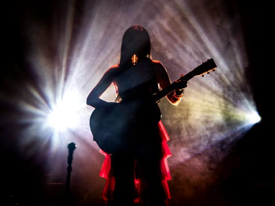 Kacey Musgraves performs a sold out show at the Tennessee Theatre in downtown Knoxville on Tuesday, March 19, 2019.