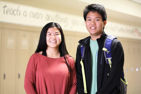 """""""Someone that works as hard as they have and their intelligence level, they should be able to get into Ivy League schools,"""" said assistant principal Tracy Poulsen. """"Those colleges will send out their letters later this month or in April. With Abbie and Hanson's abilities they could shoot as high as they want. Their qualifications put them in a higher tier."""""""