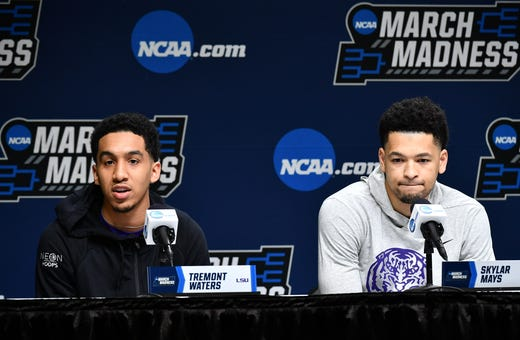 2019 Ncaa Tournament Live Updates College Basketball: NCAA Tournament: LSU Vs. Yale Live Updates, Scores