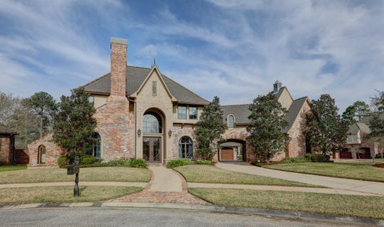 This4 bedroom, 4 and 2 partial bath home is located at100 Enclave Court in Tolson Oaks in Lafayette.