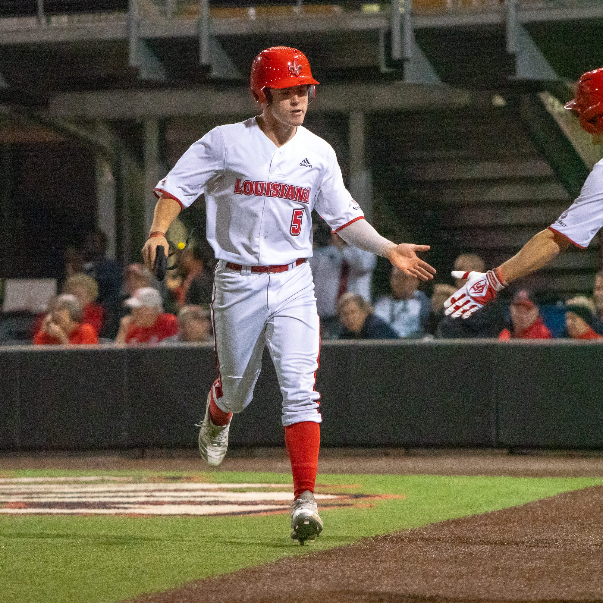 Cantrelle becomes fourth Ragin' Cajun to hit for the cycle