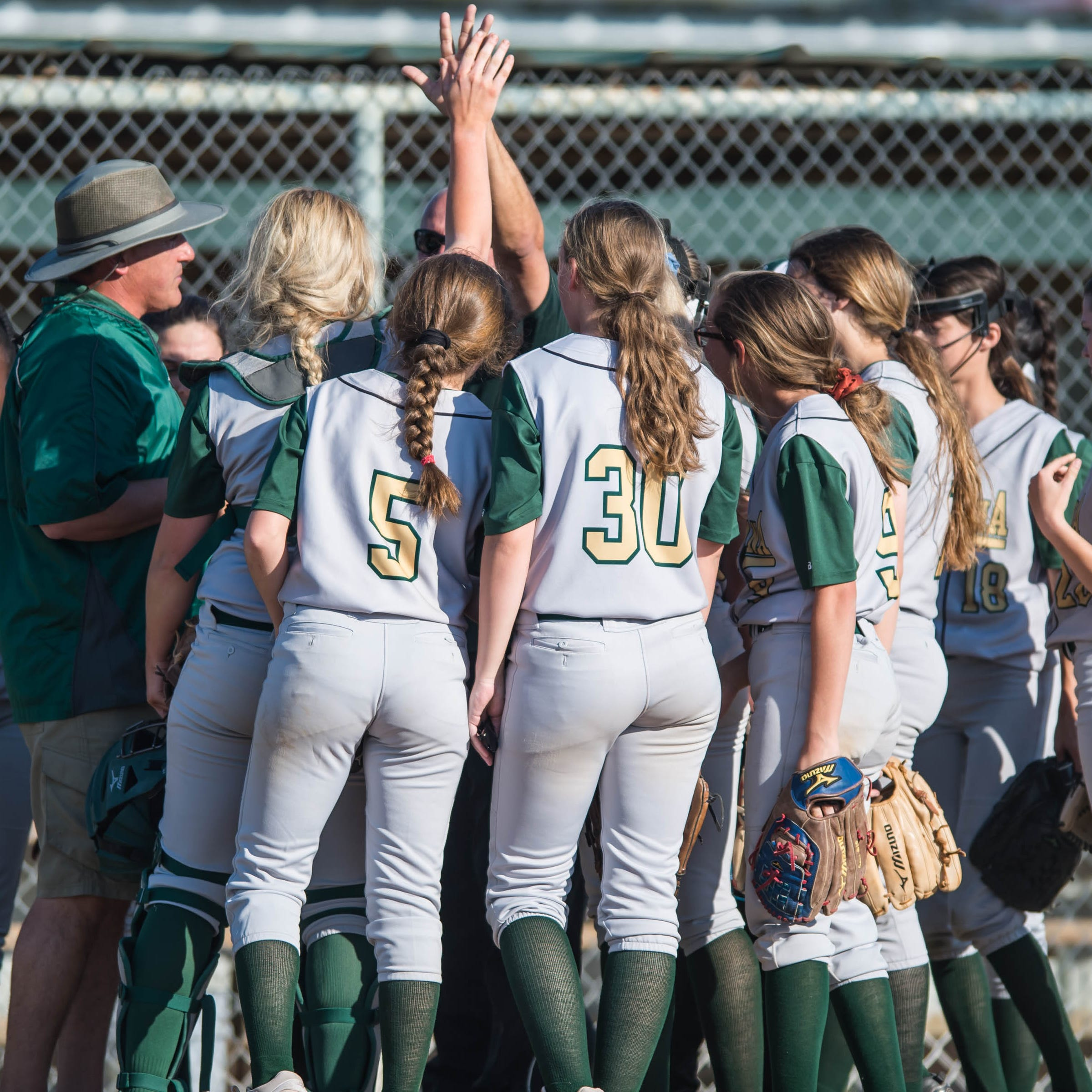 High school softball playoff pairings released