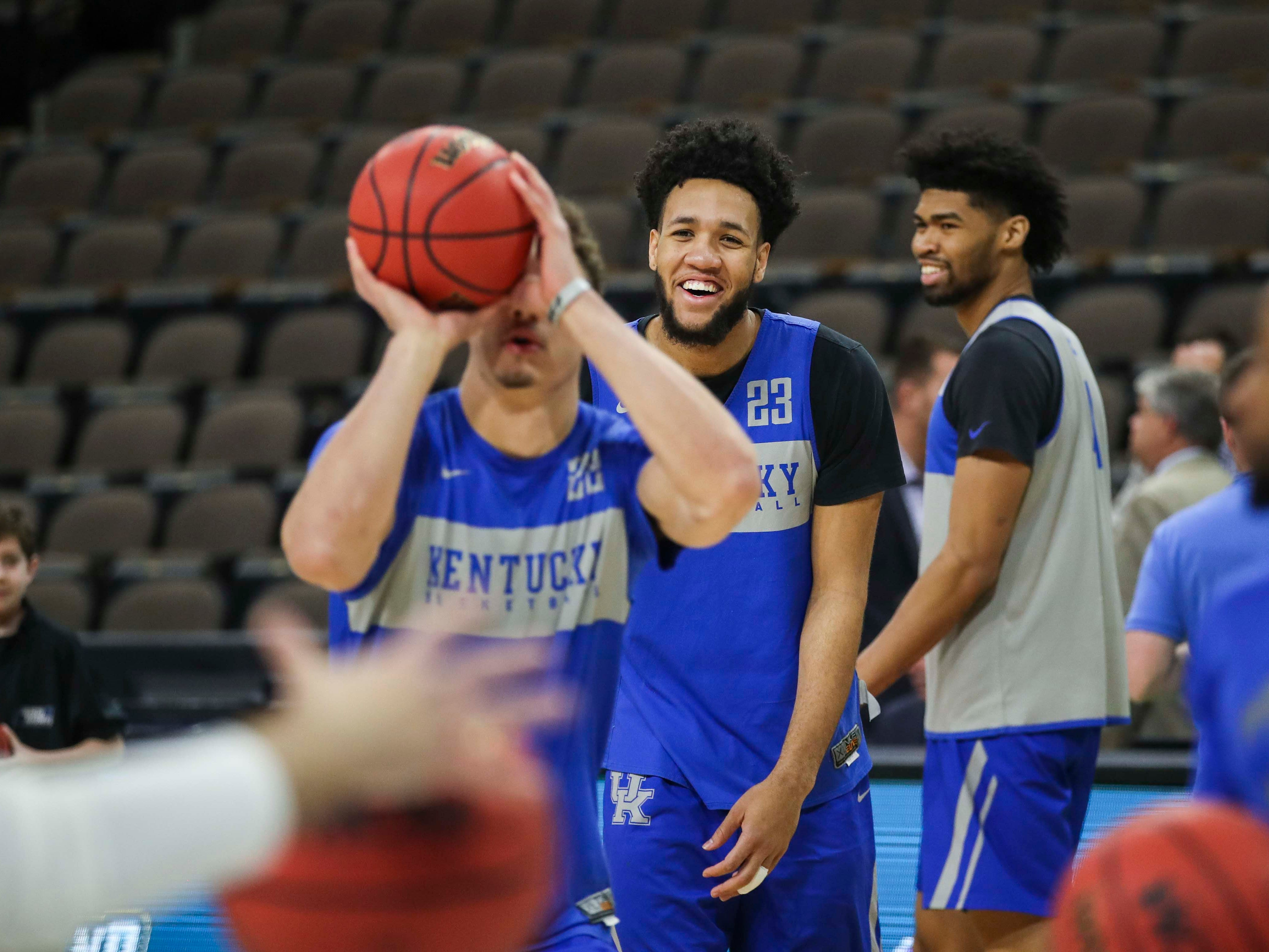 Kentucky's practice was loose and the players had fun Wednesday afternoon in Jacksonville. March 20, 2019