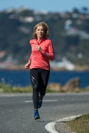 Kathrine Switzer in Wellington, New Zealand.