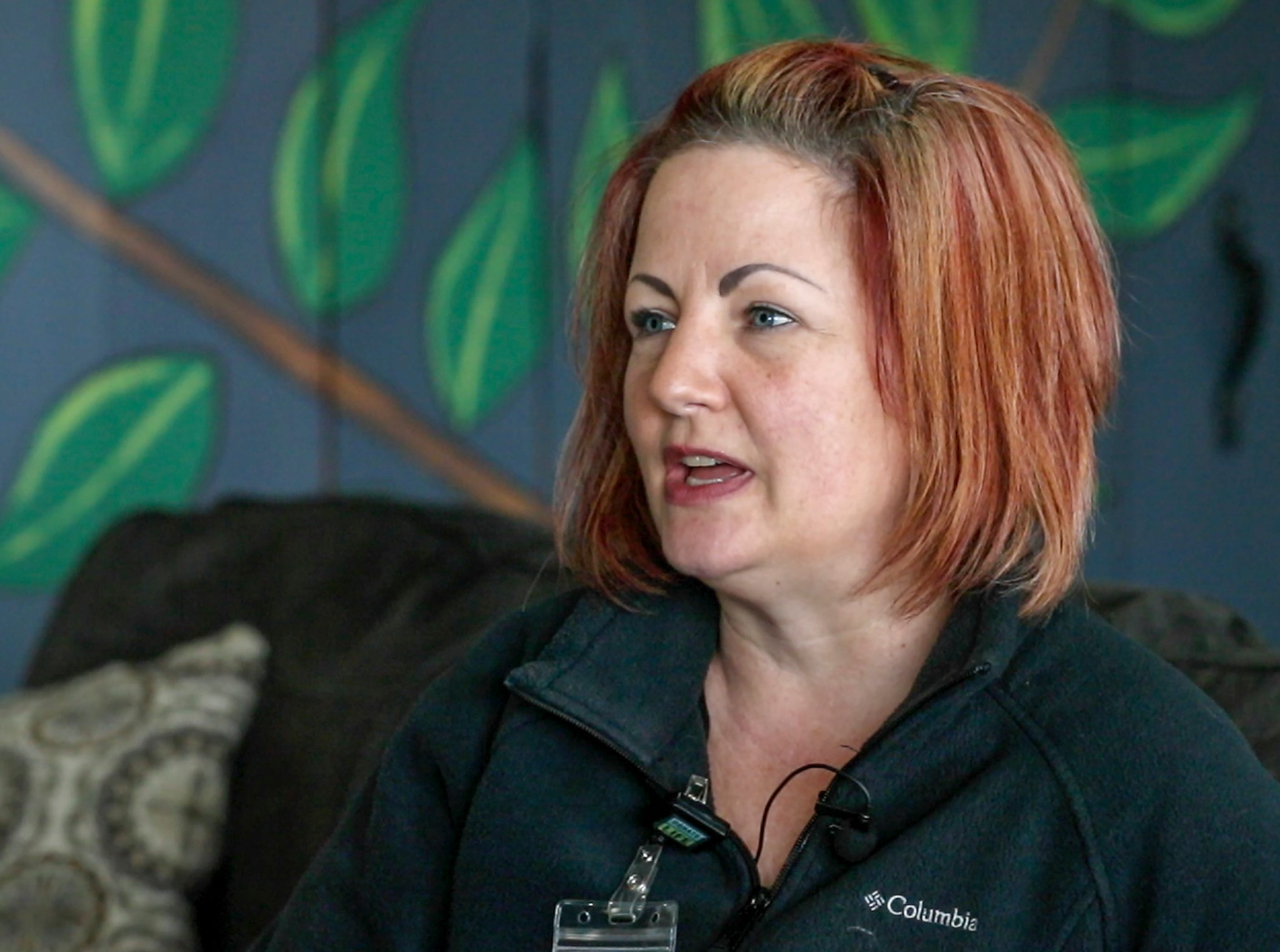 Jamie Wells, nurse at Lake Hills Oasis, a treatment center in Somerset, talks about the facility handles hepatitis A.