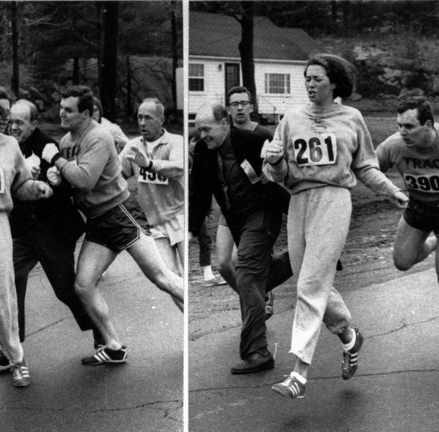 Kathrine Switzer brings iconic story to Louisville for KDF marathon relay