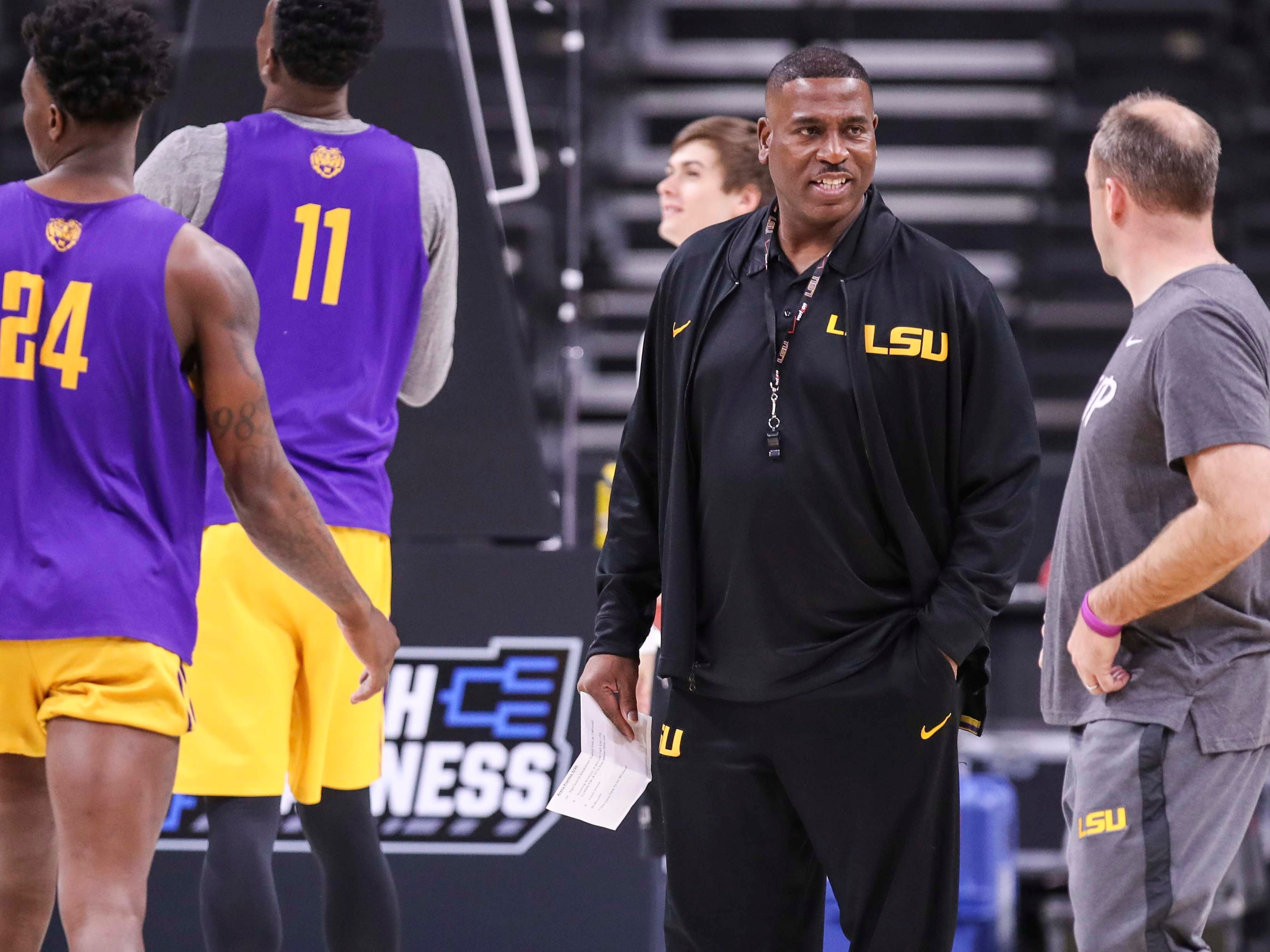 LSU takes on March Madness without Will Wade and again facing doubts