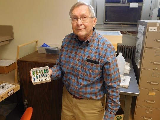 Ron Priest is no stranger to observing bugs in their natural habitats.