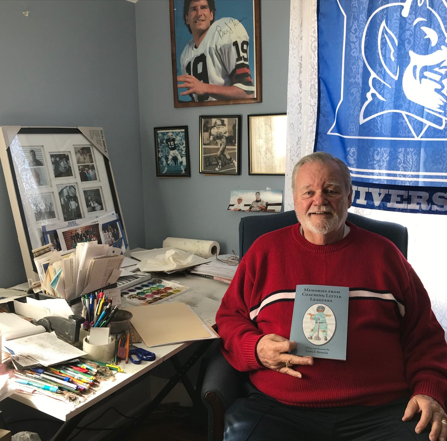 Coaching kids: Little League memories inspire 86-year-old first-time author