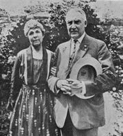 Florence and Warren Harding