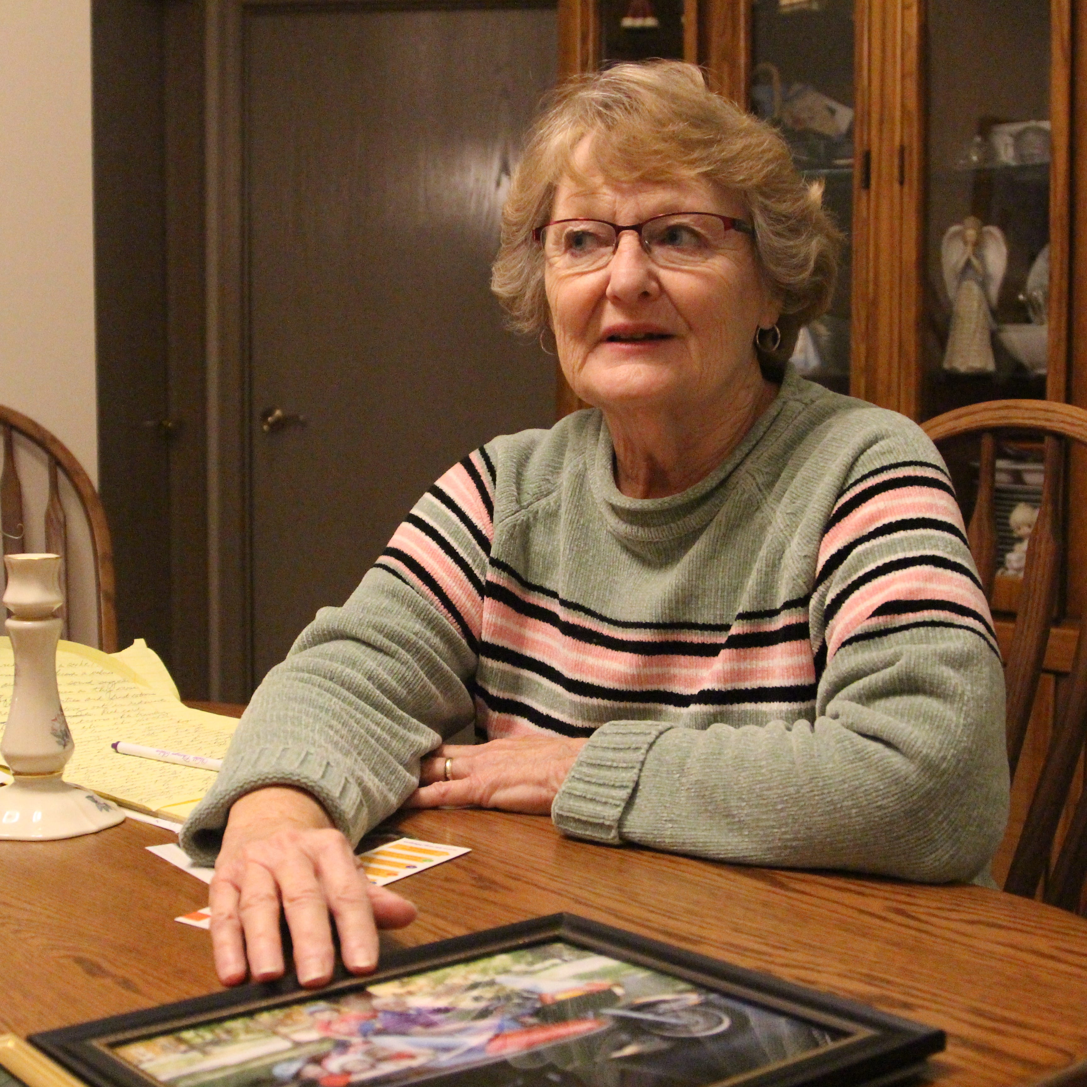 Marion wife of man with Alzheimer's urges others not to go it alone