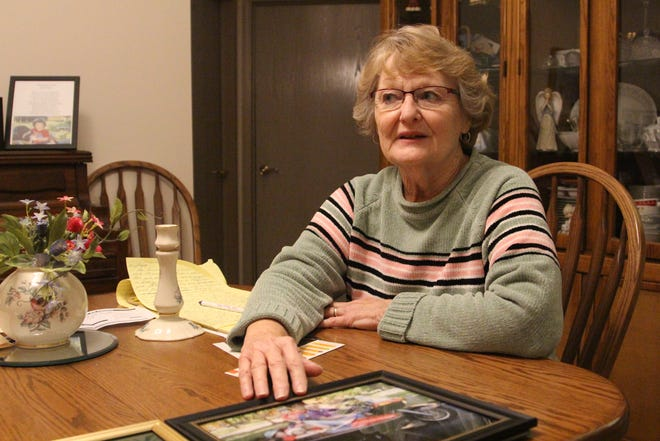 Marilyn Hottinger's husband, Jack, was diagnosed with Alzheimer's disease in 2010. As the disease progressed, she found support from a group at Kingston Residence of Marion and from the Central Ohio chapter of the Alzheimer's Association.