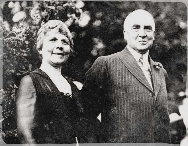 Florence and Warren Harding