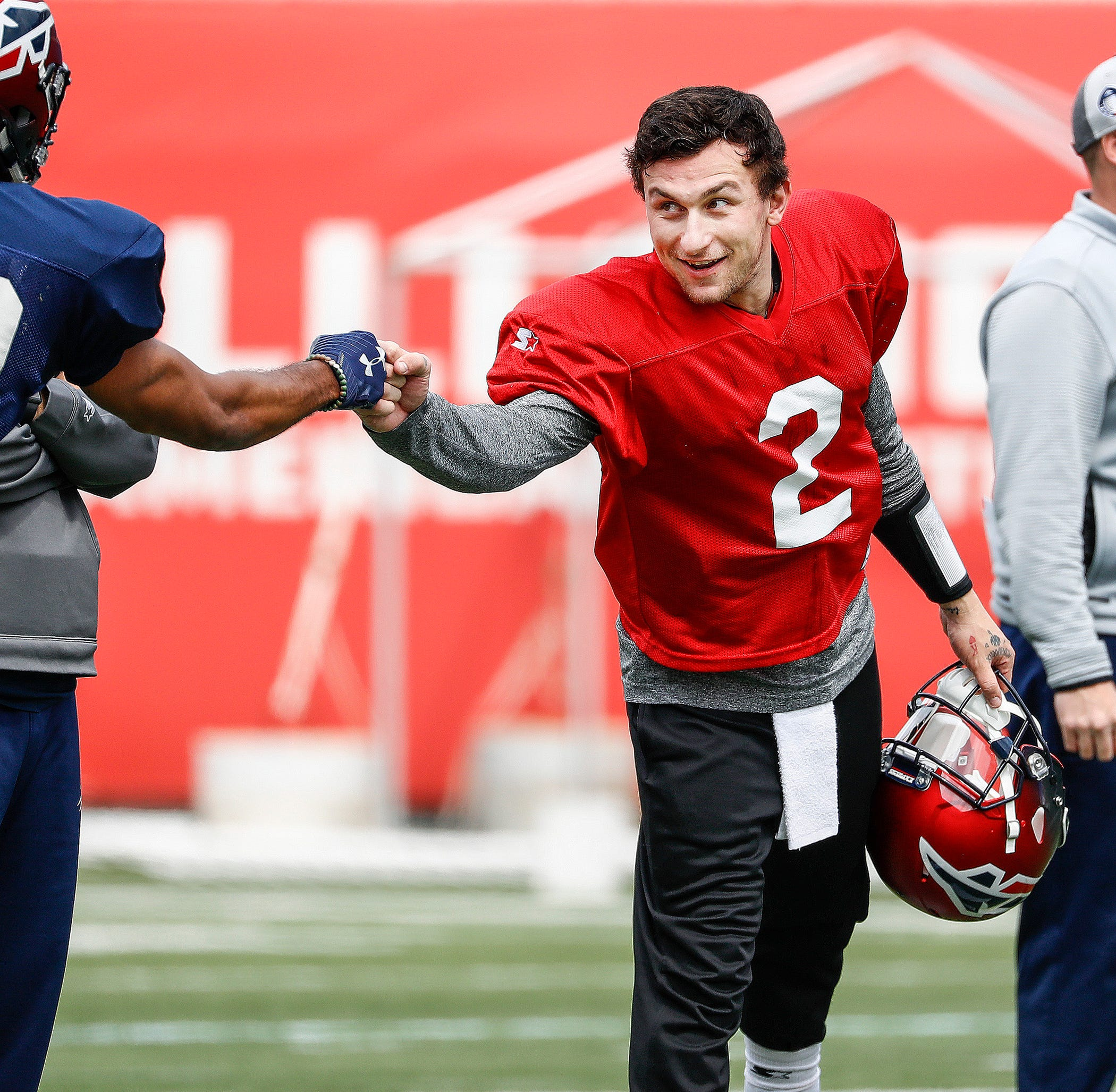 What Johnny Manziel's first week in Memphis has been like for him and the Express