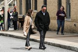 """Bluff City Law"", the NBC-TV pilot now underway in Memphis, was seen working along Mulberry St. near the National Civil Rights Museum on Wednesday afternoon."
