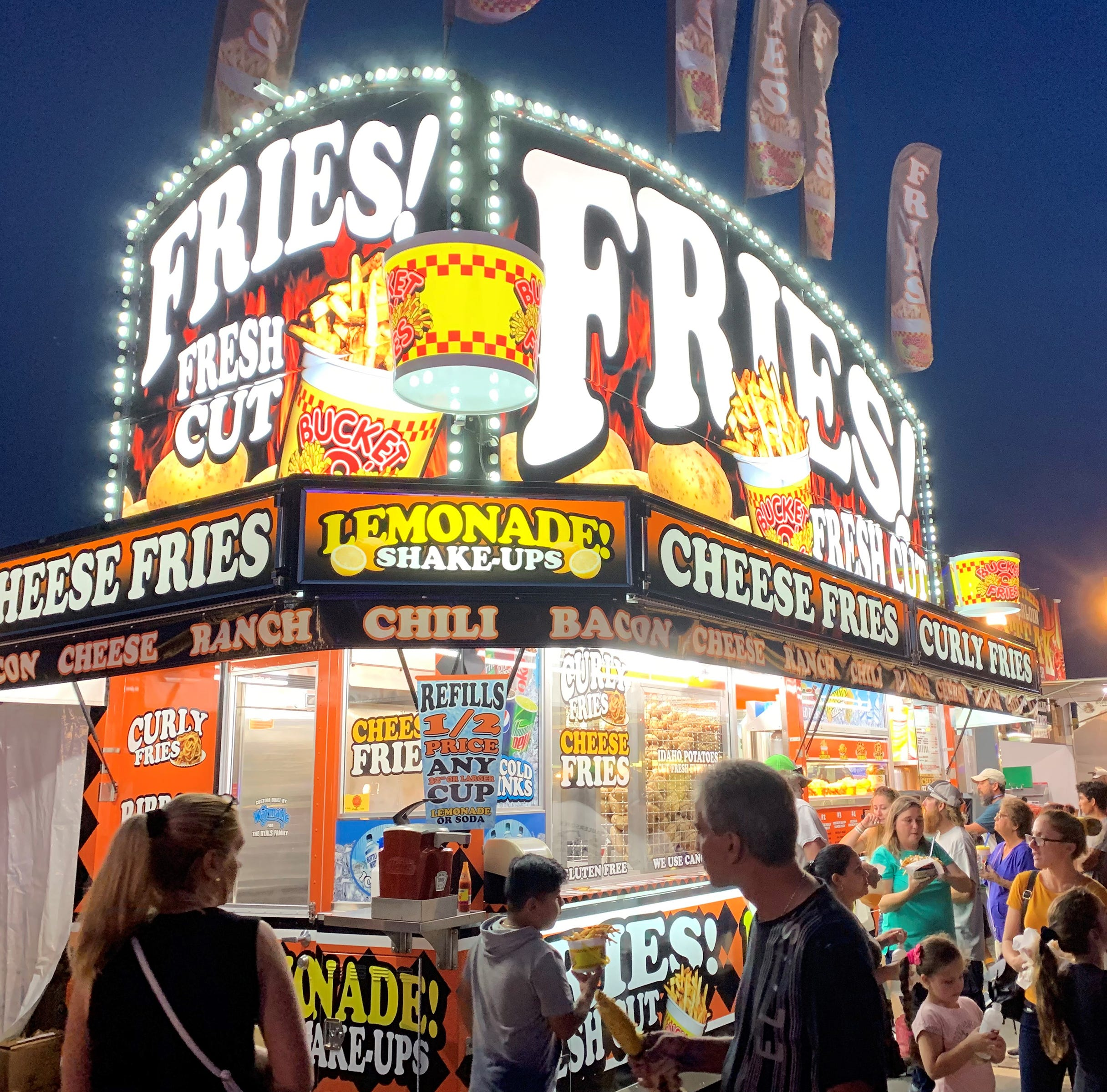 'Watt's for Dinner': Food fare at the fair