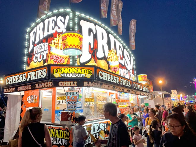 A great place to get your deep-fried potato fix at the Collier County Fair.