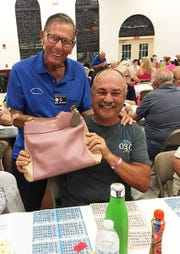 On March 14 the Knights of Columbus San Marco Council #6344 hosted a Bingo night in the San Marco Parish Center. The Coach bag winner was Tom Toleja of Indiana.