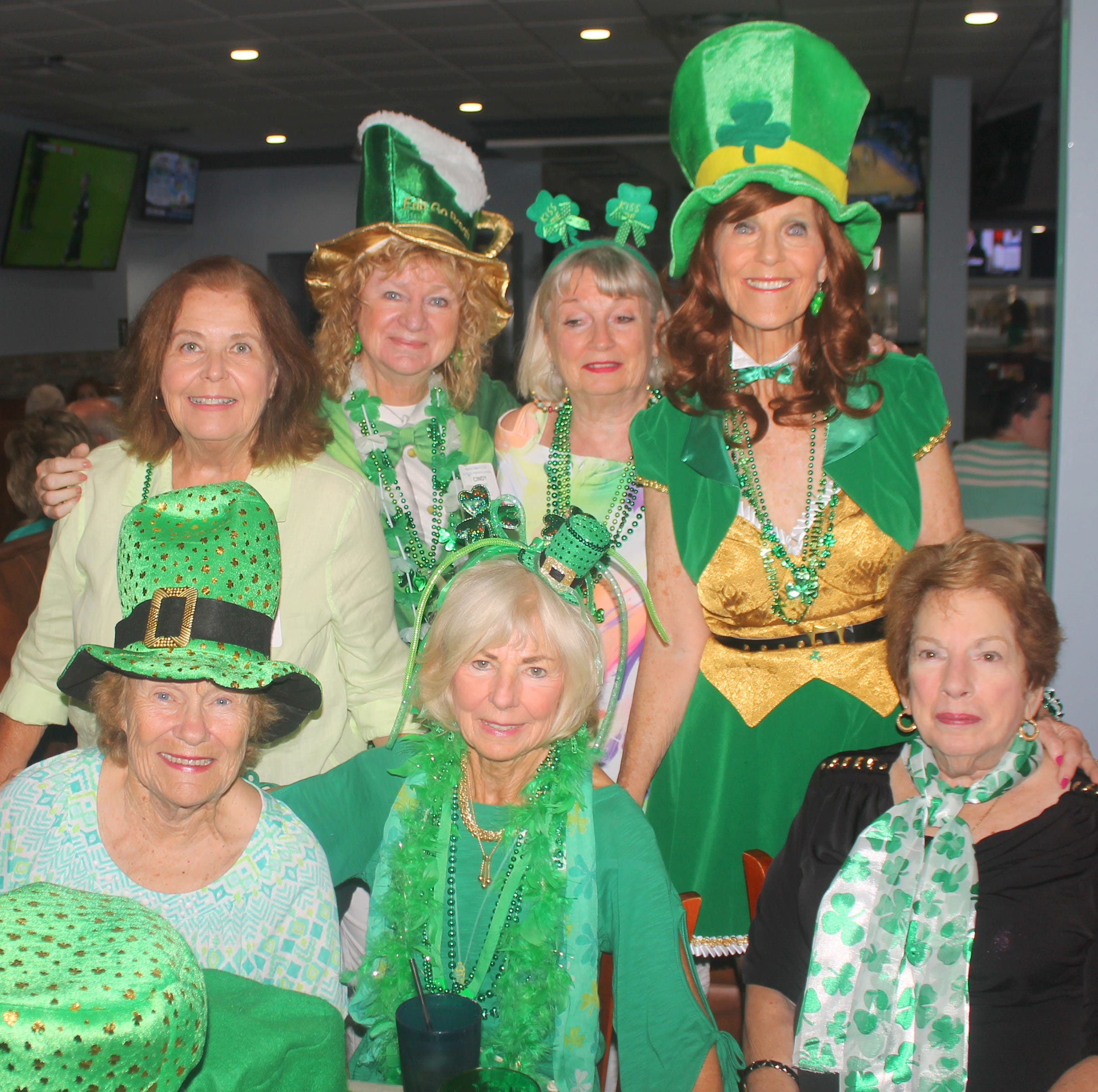 Social Scene: 'Irish for the day'