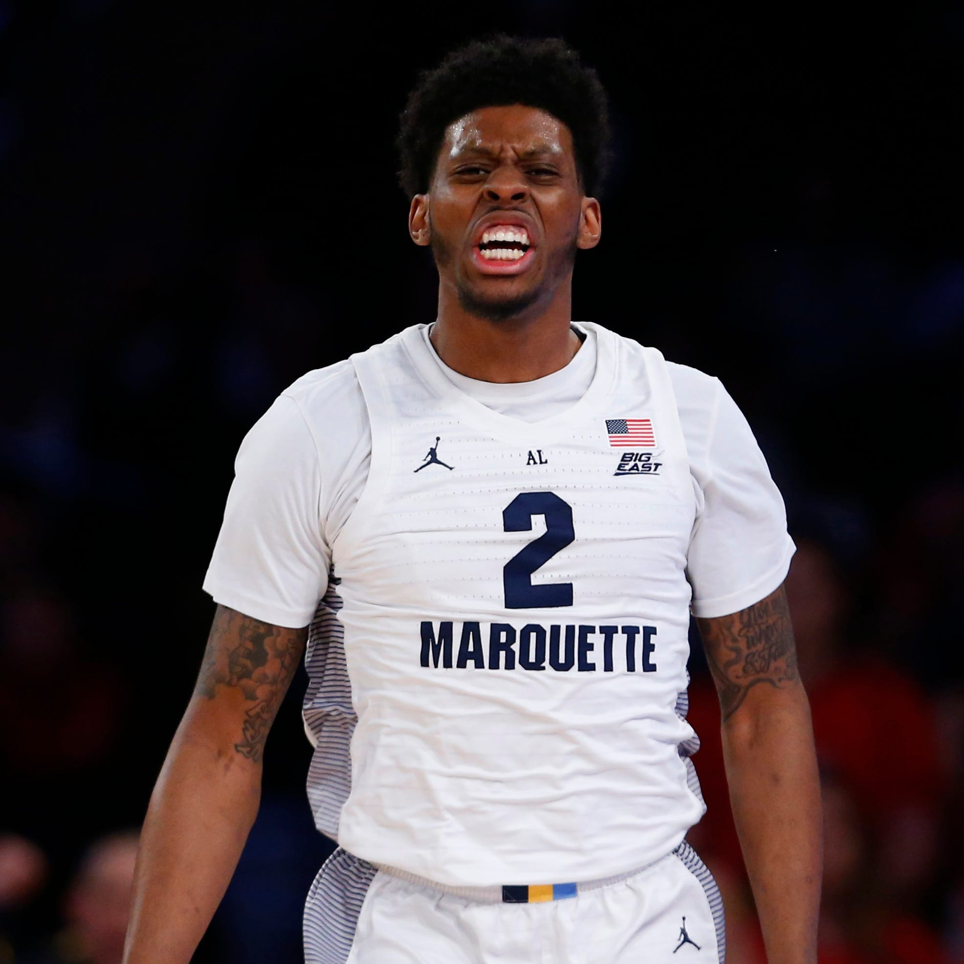 Marquette defensive stopper Sacar Anim gets toughest assignment of season in his NCAA Tournament debut