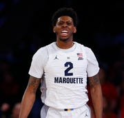 Sacar Anim always draws the toughest perimeter defensive assignments for Marquette and he will be tested again against Murray State.