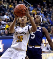Milwaukee Riverside standout Amani Wilborn is part of a strong Marquette senior class.