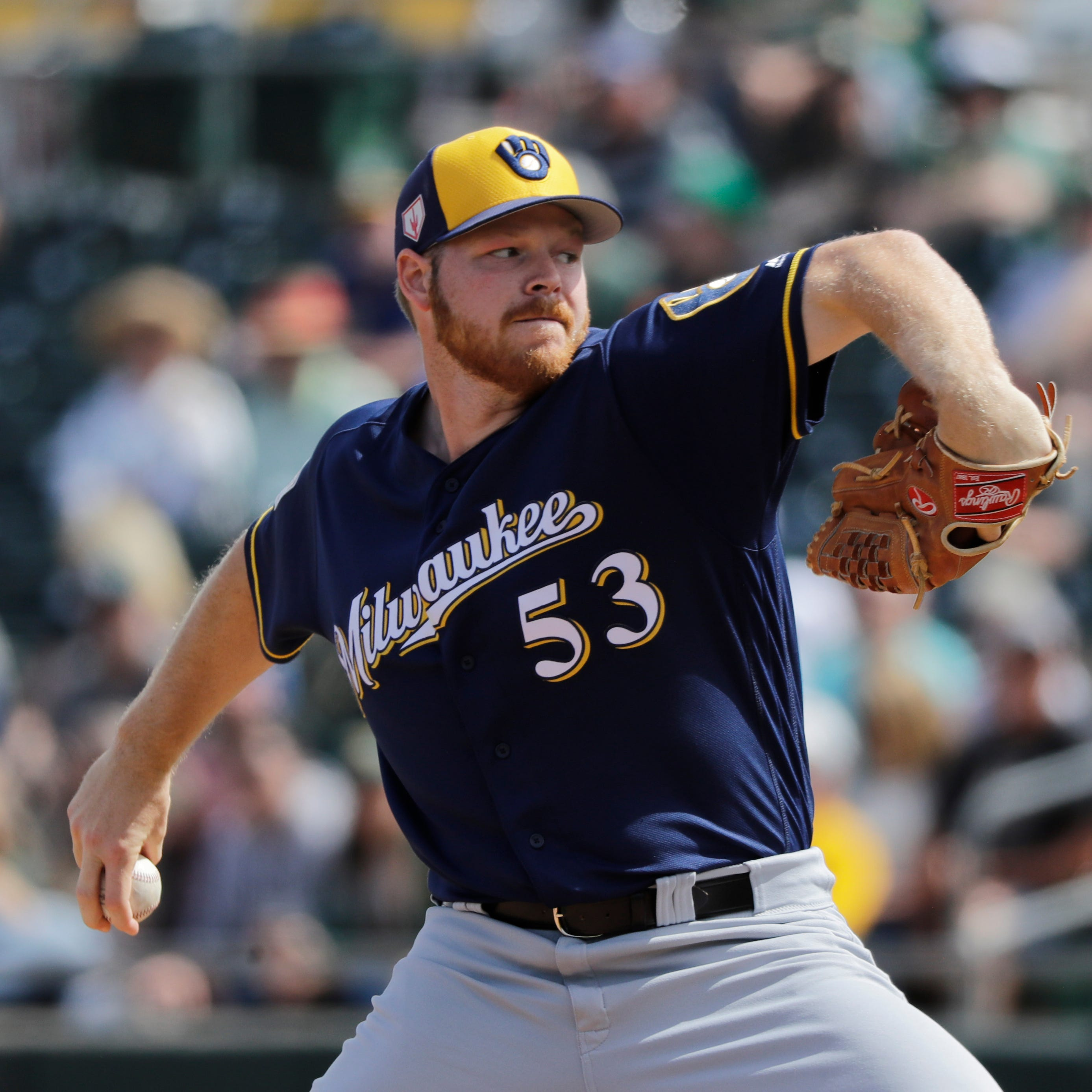 Camp report: Brandon Woodruff continues to shine as Brewers roll over Padres