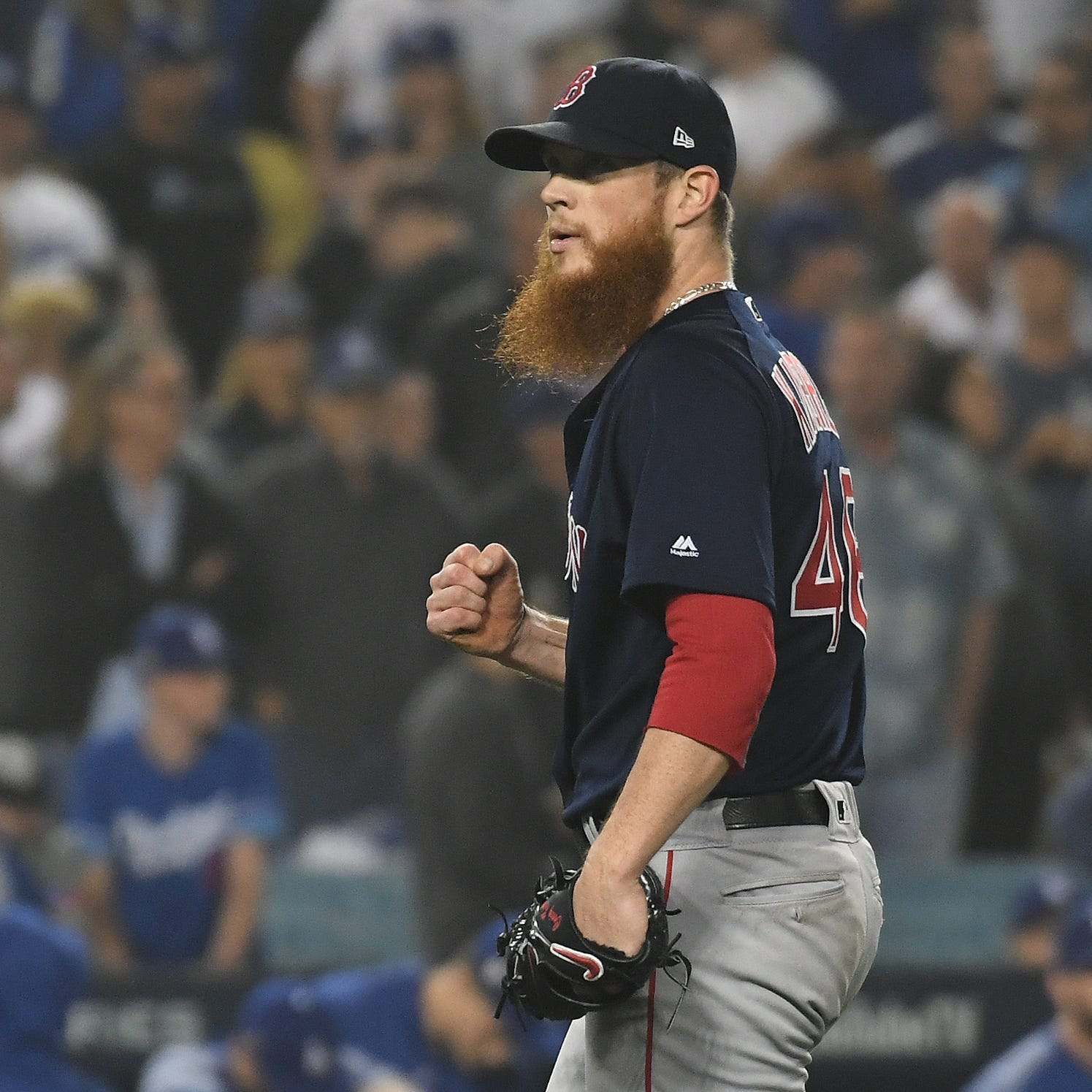 Yes, the Brewers have talked with free agent Craig Kimbrel, but there's no indication of a possible agreement