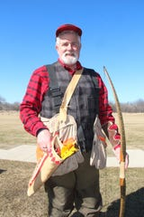 Rudy Cariello of Racine is one of the founders of the Traditional Archery Pheasant Shoot.