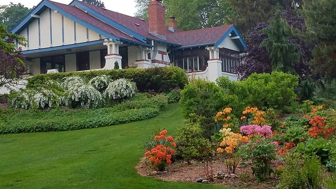 This home was on the Waukesha Historic Preservation Days home tour last year.