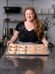 In peak summer months, Allison Cebulla turns out upward of 1,500 hand pies a week through her business, Hatched.