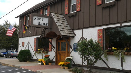 The Dorf Haus Supper Club in Roxbury, northwest of Madison, is known for its smorgasbord meals, served year-round, and roast turtle, served during Lent.