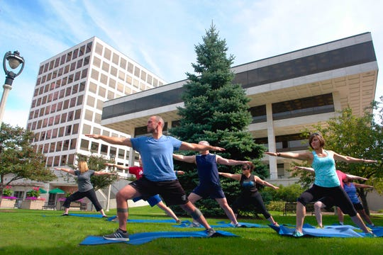 MGIC offers a variety of fitness programs to employees, including an outdoor yoga class in Red Arrow Park next to MGIC's home office. MGIC has a fully equipped gym with lockers rooms and showers and two dedicated fitness center classrooms. Classes are offered daily, ranging from yoga and strength training to cardio, spinning and high intensity interval training.
