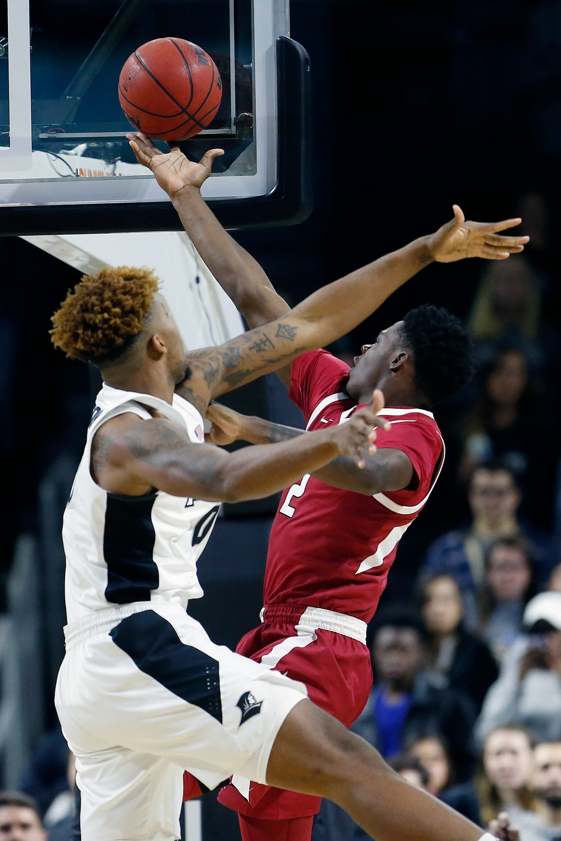 Adrio Bailey Arkansas Razorbacks Basketball Jersey - White