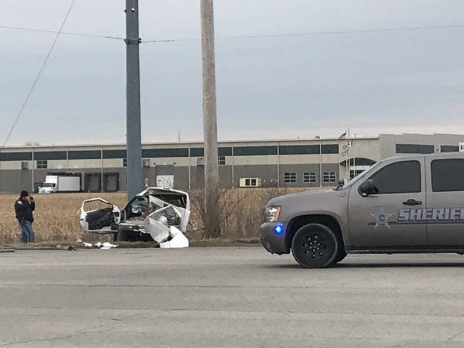 One person was killed late Wednesday morning in a two-vehicle collision at Cowan and Fuson roads,