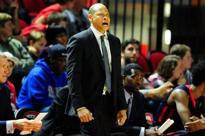 Muncie native Ray McCallum, shown here coaching Detroit in 2015, is back in the NCAA Tournament as an assistant coach with Georgia State.