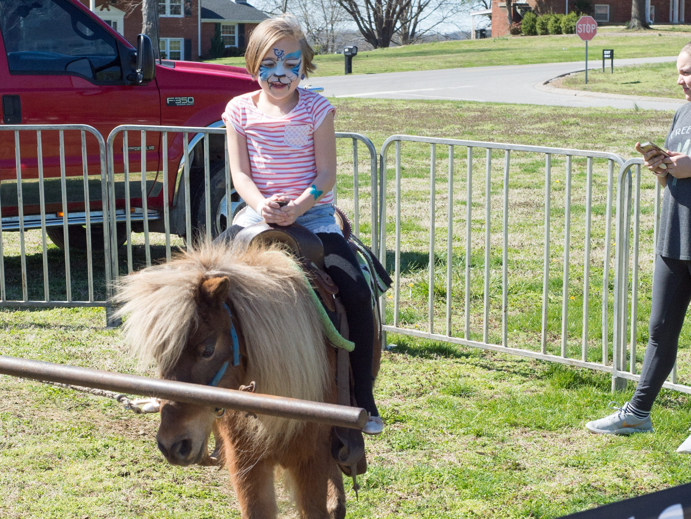 Pony rides add fun to the Mid TN Babies and Beyond Fest and Be Healthy Hendersonville Expo Presented by Hendersonville Area Chamber of Commerce at Hendersonville High School on Saturday, March 16.