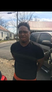 Walter E. Moss II, 30, is accused of assaulting a police officer with an ATV in downtown Nashville, Tennessee, on Saturday, March 16, 2019. Moss was arrested in Springfield, Tennessee, on Wednesday, March 20, 2019.