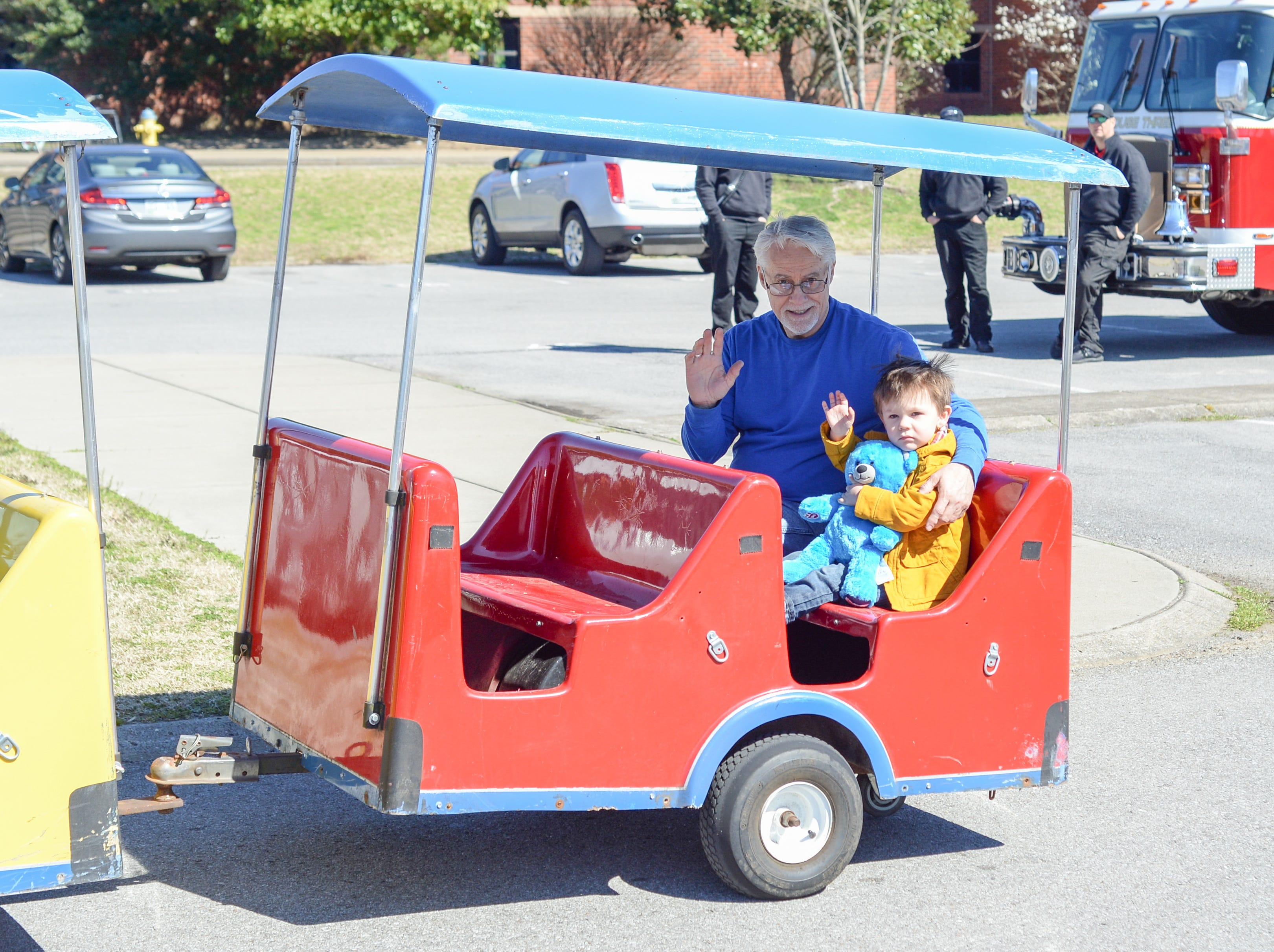 Train rides were available during the Mid TN Babies and Beyond Fest and Be Healthy Hendersonville Expo Presented by Hendersonville Area Chamber of Commerce at Hendersonville High School on Saturday, March 16.