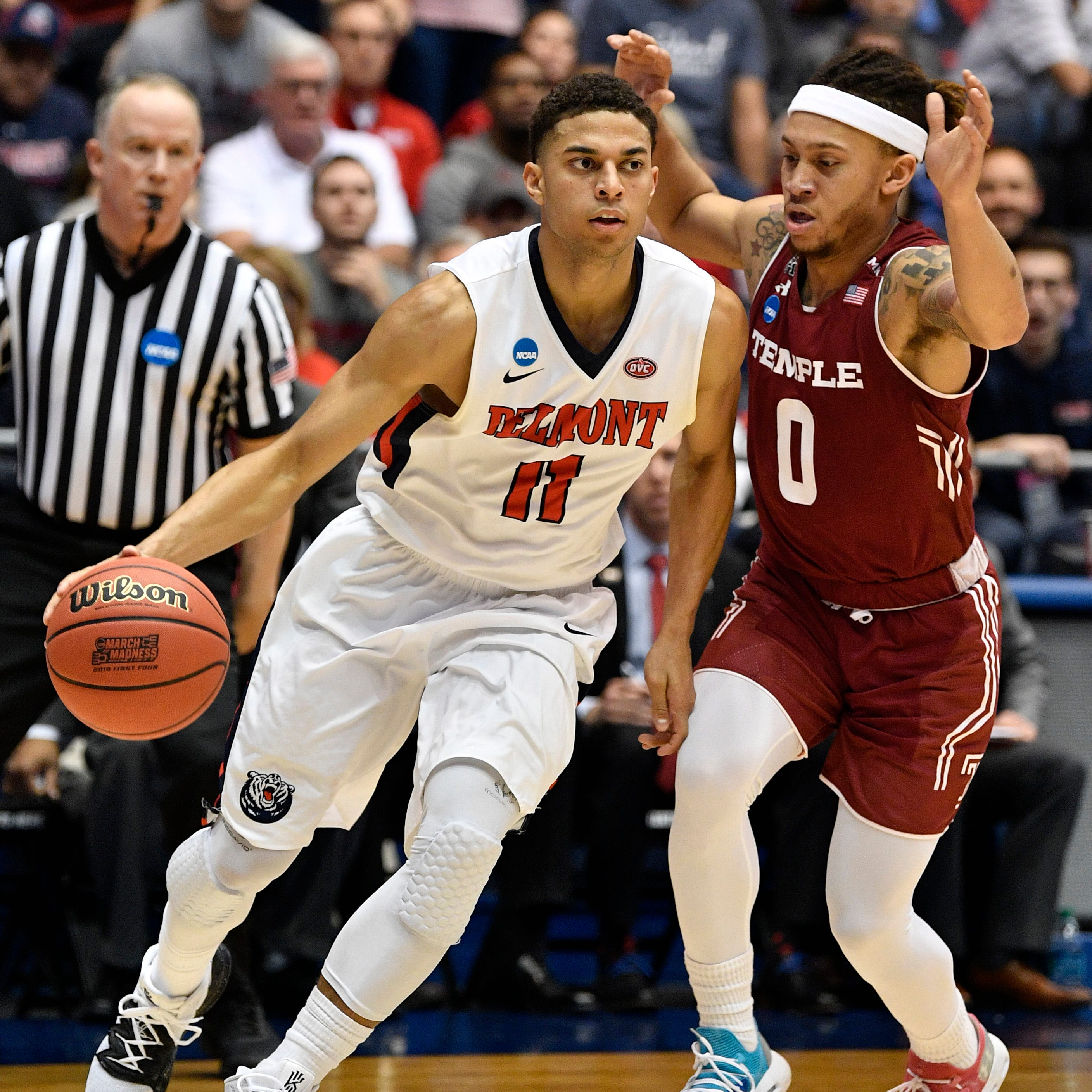 Belmont claims first NCAA Tournament victory, beats Temple 81-70
