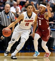 Former Belmont guard Kevin McClain (11) signed a summer league deal Wednesday with Golden State.