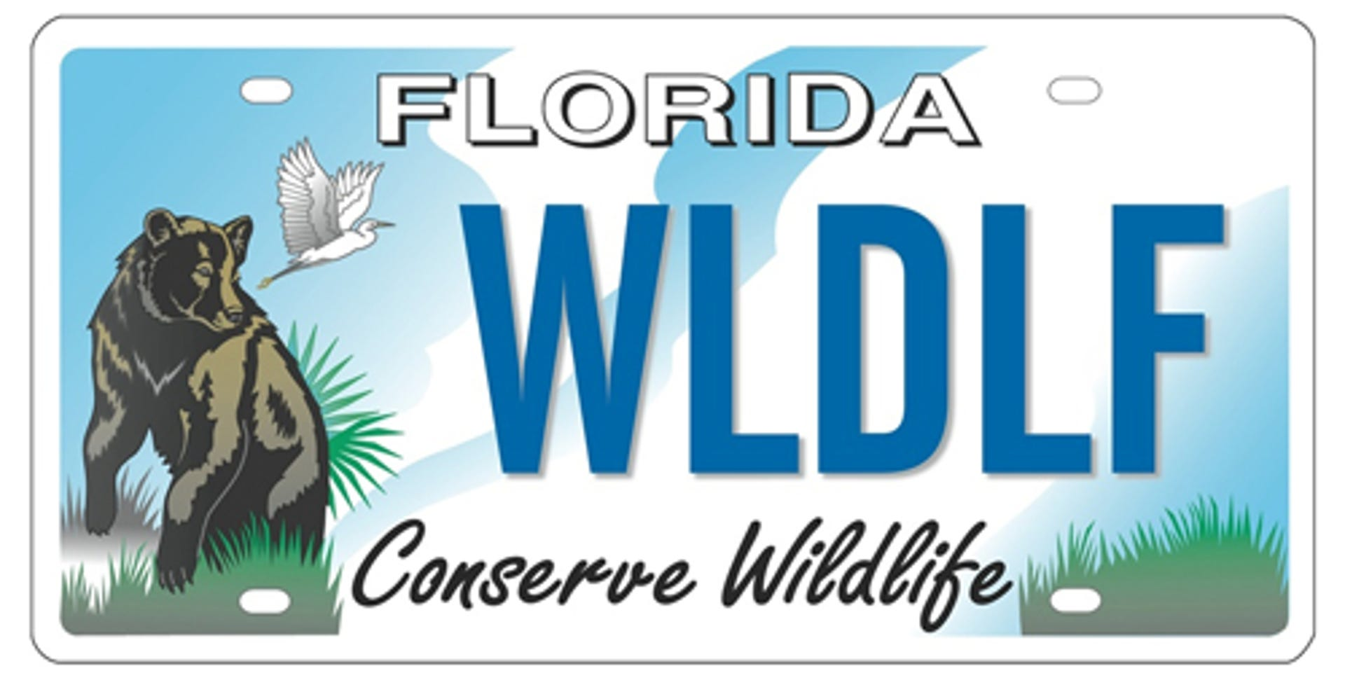 Photos: Vote for your favorite 'Conserve Wildlife' license plate design